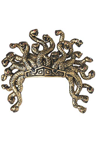 (California Costumes Medusa Headdress, Gold, One)