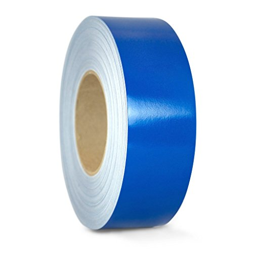Blue Reflective Tape - T.R.U. REF-7 Blue Engineering Grade Reflective Tape: 1 in. wide x 30 ft. length