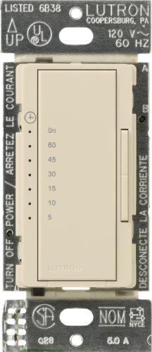 Price comparison product image Lutron MA-T51-ES Maestro Countdown Timer, Eggshell
