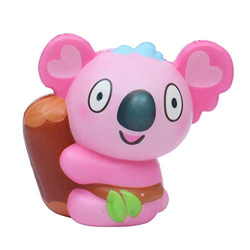 - callm Jumbo Squishy Squeeze Toys Cute Koala Slow Rising Soft Scented Charms Squishy Stress Reliever Anxiety Relief Squishies Toys for Kids and Adults