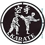Tiger Claw Patch - Karate 8inch Patch