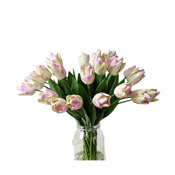 5PCS-Real-Touch-PU-Parrot-Tulips-Artifical-Flowers-Latex-Bouquet-Home-Wedding-Decor