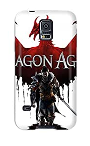 High-quality Durability Case For Galaxy S5(dragon Age Ii 2011 Game)