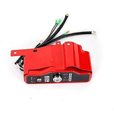 Electric Start Kit Flywheel Ignition Starter Motor Key Switch Coil For Honda GX340 11HP GX390 13HP Engine USA Stock: Automotive