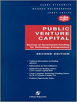 2001 Public Venture Capital (With CD-ROM)