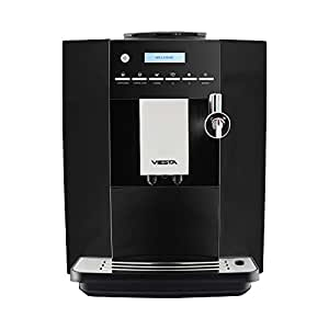 Viesta CB350 PLUS Kaffeevollautomat Modell 2017, leistungsstarke Kaffeemaschine, 1,8 L, 19 bar, 1400 W, schwarz