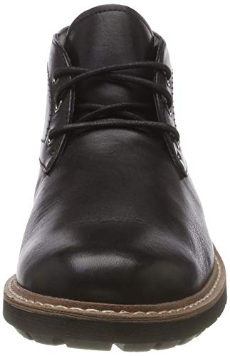 Clarks Lo black Chelsea Batcombe Nero Stivali Uomo Leather rBaqrfAw