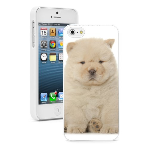 Amazon Com For Apple Iphone Se Hard Back Case Cover Cute Fluffy