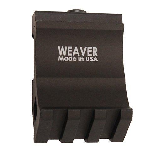 Weaver Offset Picatinny 99671 Rail Adaptor 6061-T6 ()