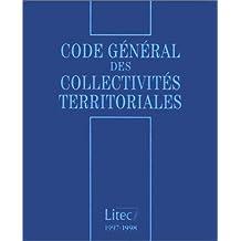 Code général des collectivités territoriales, 1re édition (ancienne édition)