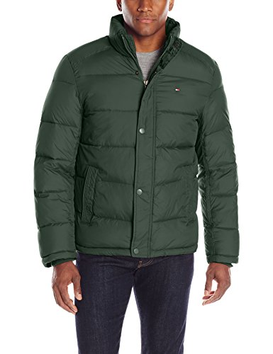 03f7a1f9 Tommy Hilfiger Men's Classic Puffer Jacket at Amazon Men's Clothing store: