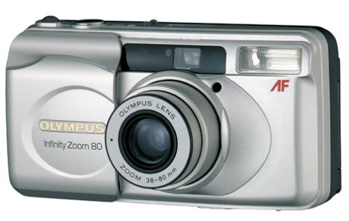Olympus Infinity Zoom 80 QD Date 35mm Camera by Olympus