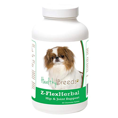 Healthy Breeds 60 Count Japanese Chin Z-Flex Herbal Hip and Joint Support Chewables