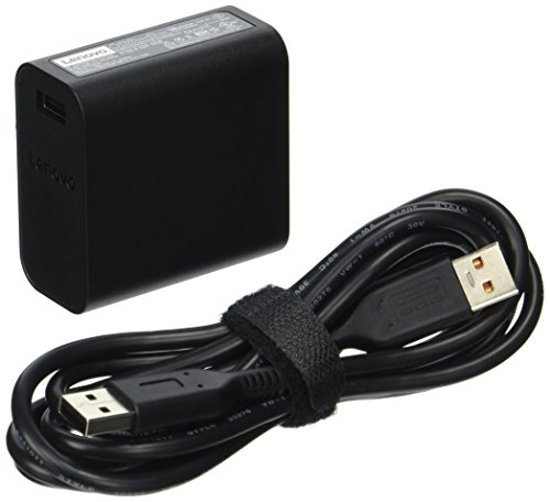 Lenovo 40W Computer Charger - Slim Travel AC Adapter ()