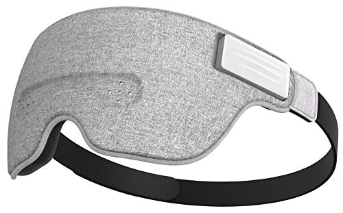 Ivation Luuna Brainwave Brain Sensing Bluetooth Smart Sleep Mask Built-in Music/Sounds, Wireless Connection to Most Devices with EEG and AI Technology - Great for Home, Travel or Nap-Break at Office by Ivation (Image #10)