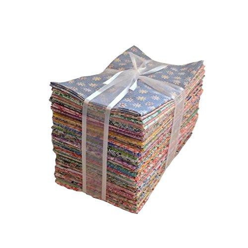 60 1930s Feedsack Reproduction Fabric Fat Quarters Quilt Shop Quality 100% Cotton No Duplicates