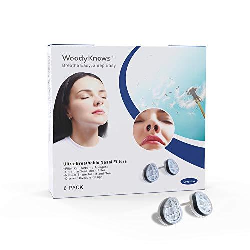 WoodyKnows - Filtros nasales ultra transpirables