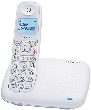 Alcatel XL375 inalámbrico Pantalla Teléfonos Contestador ...