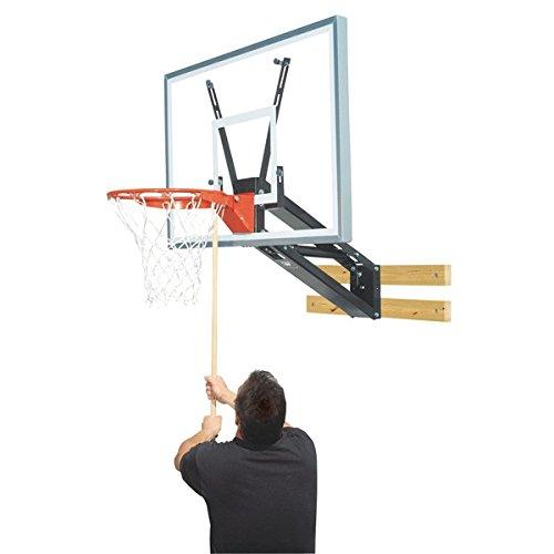 Bison PKG275 QuickChange Acrylic Wall Mounted Adjustable Basketball Hoop by Bison (Image #1)