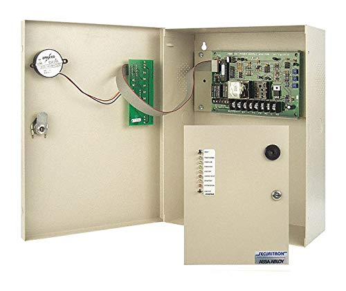 Plastic Power Supply Monitor with Powder Coated - Monitor Securitron Supply Power