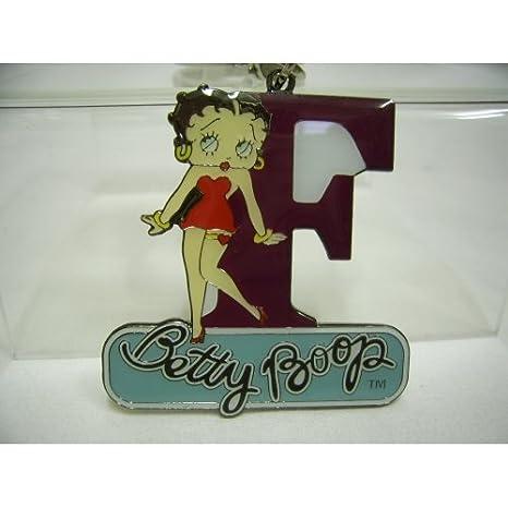 Betty Boop Llavero con Letra F, diseño: Amazon.es: Hogar