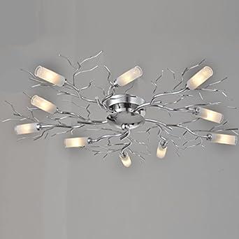 Lustre Plafonnier Design 10 Branches Sherman En Soldes