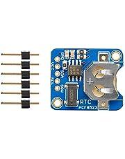 PCF8523 Módulo de placa de desbloqueo RTC Reloj de tiempo real Ensamblado Breakout Boardwinder 3.3V 5V Reloj de tiempo para Arduino - Azul