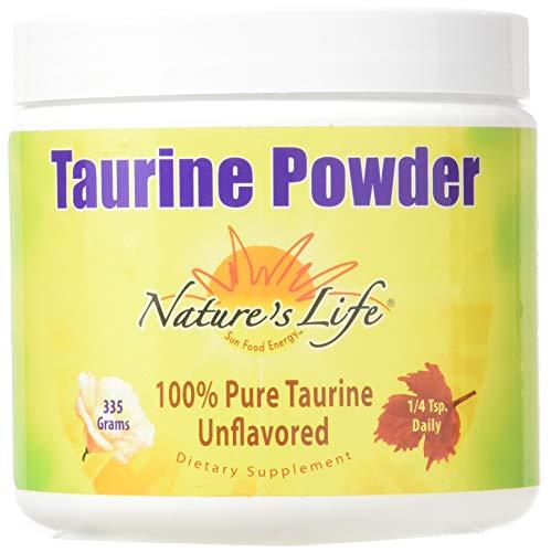 Nature's Life Nature's Life Taurine Powder 335 Grams, 335 Gram