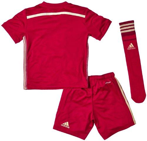 Spanien Trikot Set Home 2014 Home Adidas Kindergröße Red