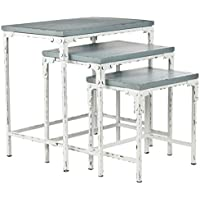 Safavieh American Homes Collection Timmy Slate Green Stacking Tables