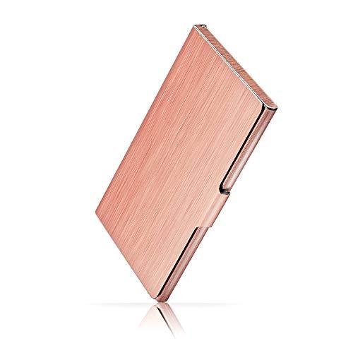 Ocadux Professional Business Card Holder Case, Metal Pocket Business Card Case for Women or Men, Stainless Steel, 3.7 x…