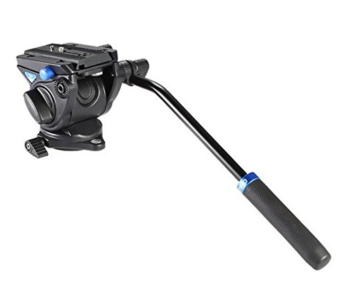 GOWE Professional Hydraulic Damping 3D Tripod Head Video Head Fluid Head Video Camera Monopod Head Max Load 4kg