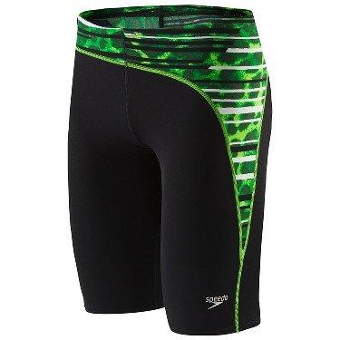 Speedo Men's Got You Jammer Swimsuit, Green, 28 by Speedo
