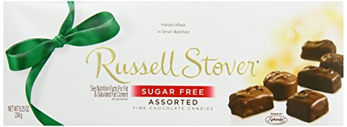 Russell Stover Sugar Free Assorted Chocolate, 8.25-Ounce Boxes (Pack of 3) (Free Sugar Russell Nutrition Stover)