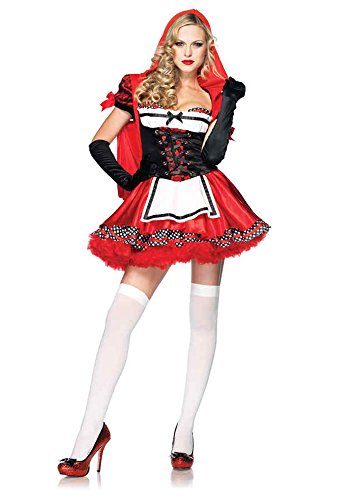 Divine Miss Red Adult Costume - Medium - Divine Miss Red Costume