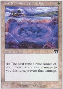 Magic: the Gathering - Circle of Protection: Blue - Sixth Edition
