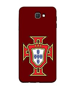 ColorKing Football Portugal 08 Red shell case cover for Samsung J5 Prime