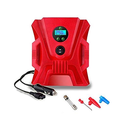PXQ Inflador de neumáticos Digital, compresor de Aire ...