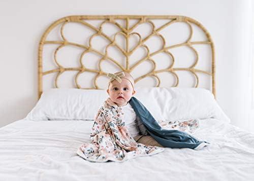 Copper Pearl Grande prime tricot bébé 3 couche extensible Quilt Blanket Automne