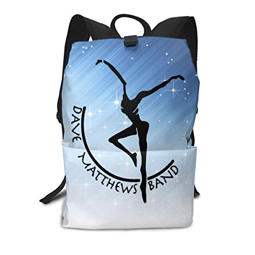 Outdoor Leisure Sports School Travel Backpack Casual Daypack-DAVE MATTHEWS]()