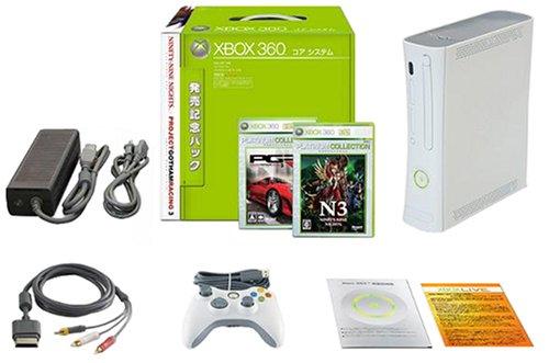 Xbox360本体 コアシステム[発売記念パック]