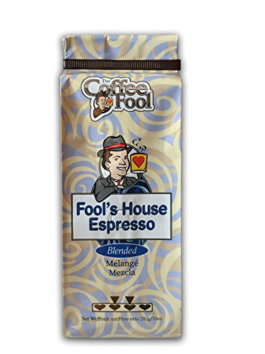 The Coffee Fool Fool's House Espresso, Coarse Grind, 10 Ounce ()