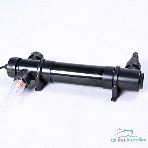 Watt Pond Uv Filtration - SunSun CUV-136 36W UV Light Sterilizer Pond Water Clarifier