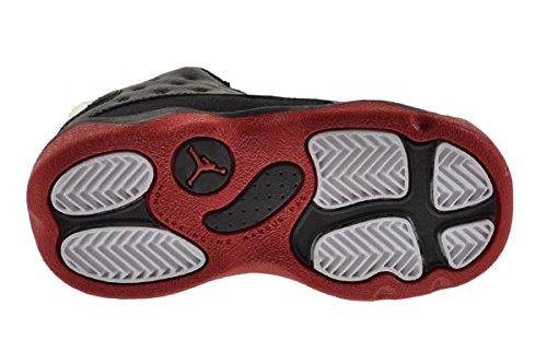 Jordan 13 Retro ''Dirty Bred'' BT Baby Toddler Shoes Black/Gym Red-Black 414581-003 (7 M US) by Jordan (Image #6)