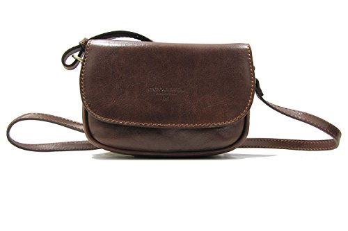 Cuoieria Fiorentina Leather Italian Crossbody Brown qPqpxgr