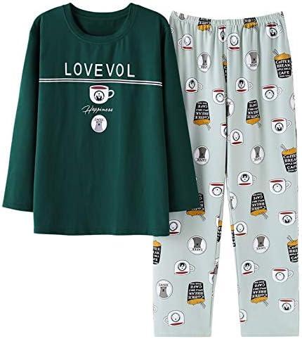 XFLOWR Hombres Pijama Algodón Gris O-Cuello Ropa de Dormir Hombres Manga Larga Ropa para el hogar Tallas Grandes L-3xl Pijama Ropa Interior Masculina Conjunto de Pijamas: Amazon.es: Deportes y aire libre