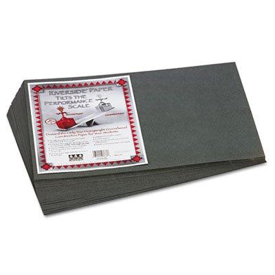 Riverside Construction Paper, 76 lbs., 12 x 18, Slate Gray, (Slate Gray 50 Sheet)