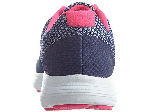 Nike Damen Révolution De 3 Laufschuhe De Dk Poussière Violet / Explosion Blanc-rose