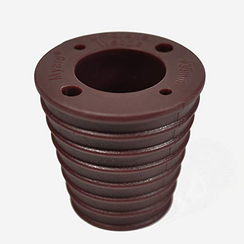 Myard MP UW35H4-DBR Umbrella Cone Wedge Spacer for Patio Table Hole Opening or Base 1.8 to 2.4 Inch, Umbrella Pole Diameter 1 3/8