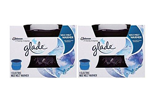 Glade Wax Melt Electric Warmer, Eggplant, (Pack of 2)